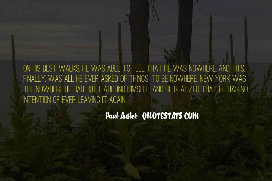 Paul Auster Sayings #230697