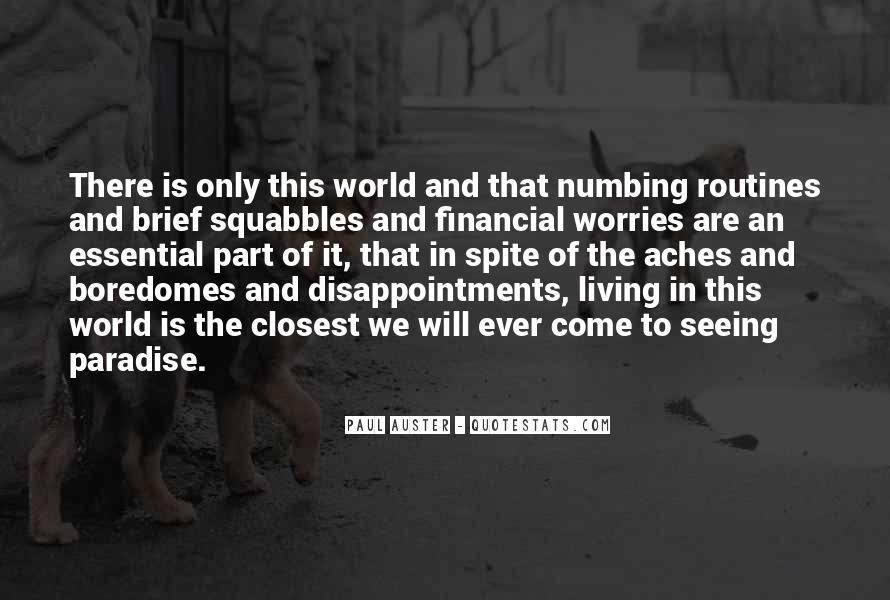 Paul Auster Sayings #24132