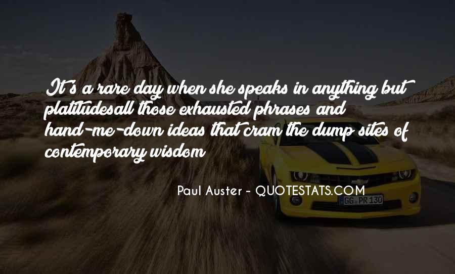 Paul Auster Sayings #255220