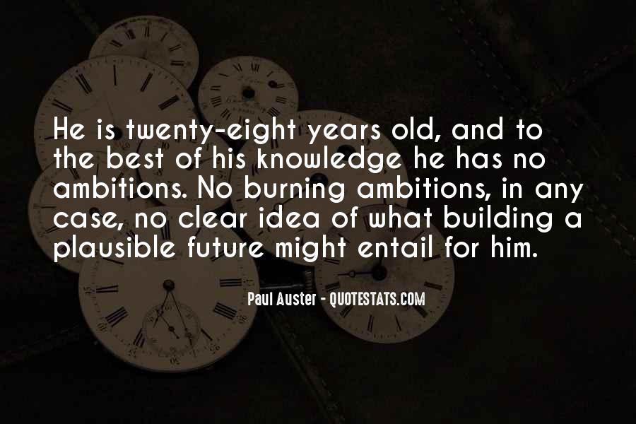 Paul Auster Sayings #269924