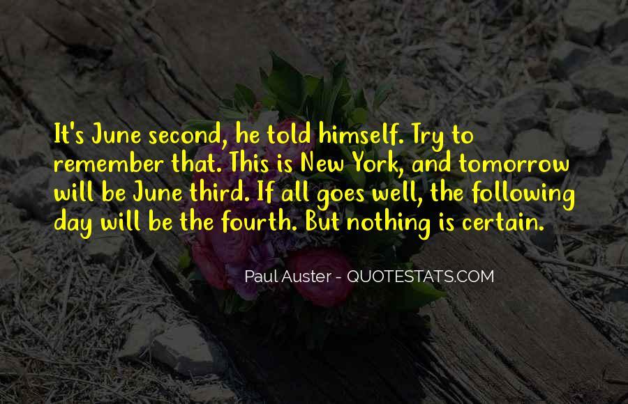 Paul Auster Sayings #285647