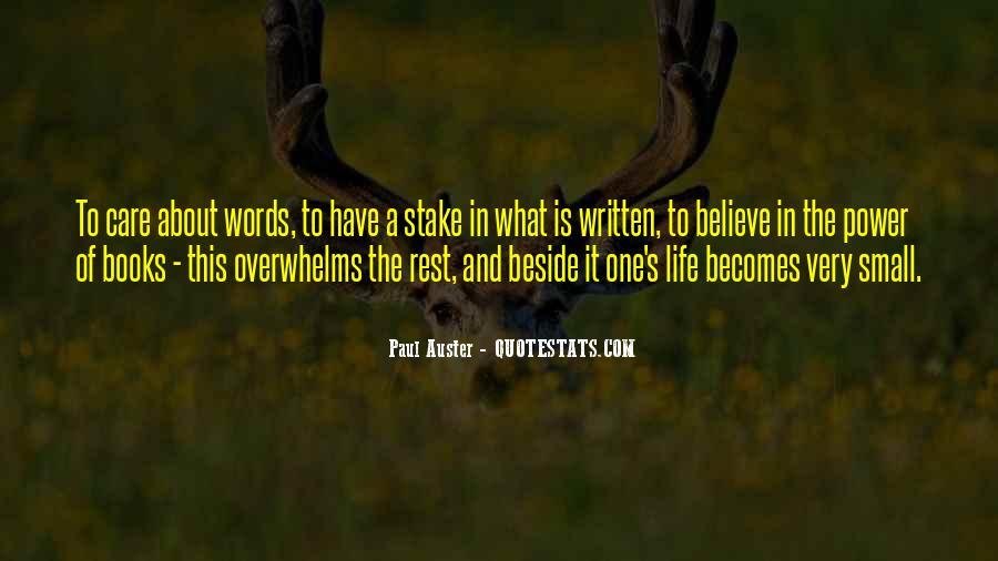 Paul Auster Sayings #309495
