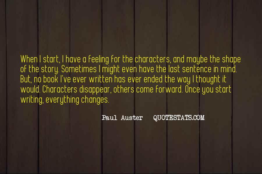 Paul Auster Sayings #34863