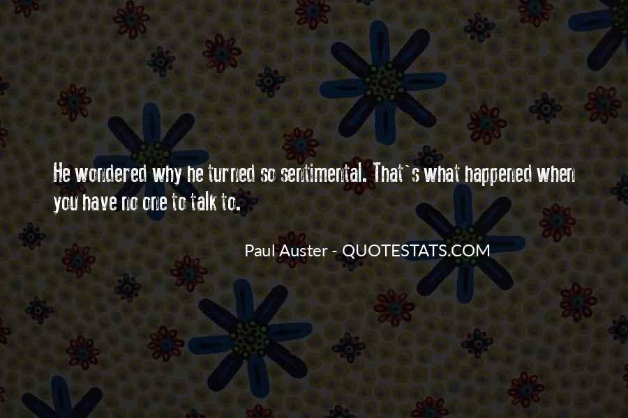 Paul Auster Sayings #379542