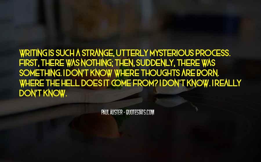 Paul Auster Sayings #382937
