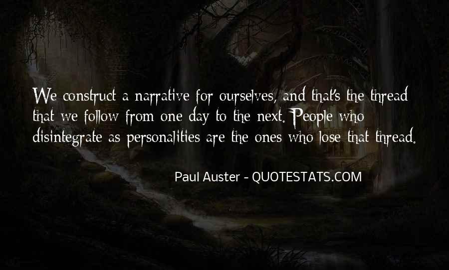 Paul Auster Sayings #76934