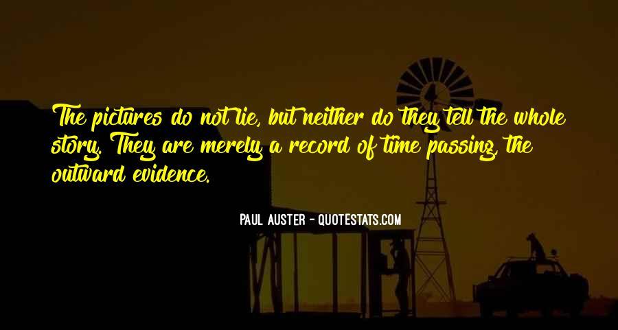 Paul Auster Sayings #8083