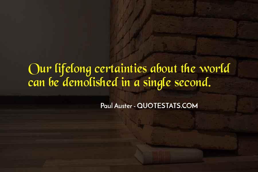 Paul Auster Sayings #99609