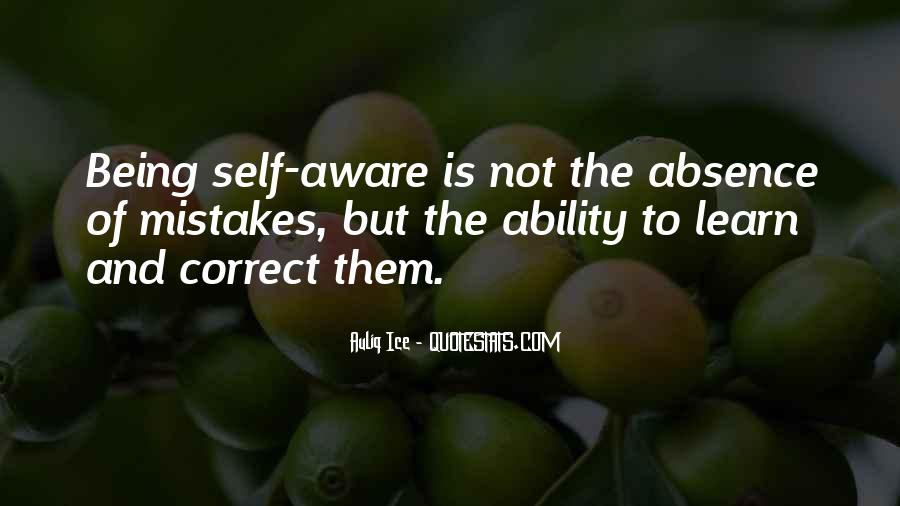Aware Quotes Sayings #200261