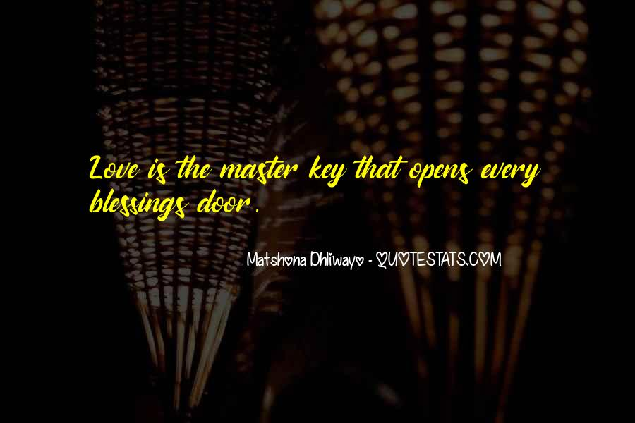 Blessings And Sayings #117426