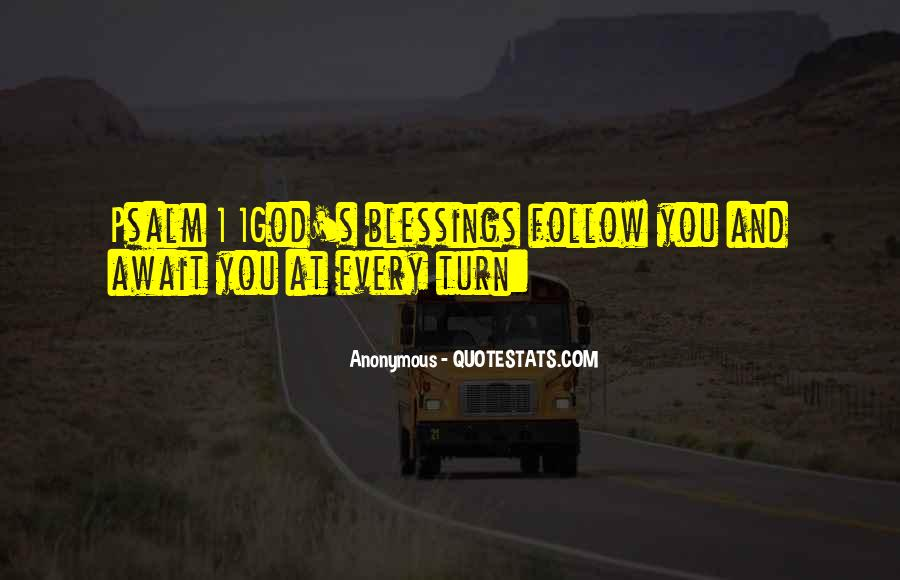 Blessings And Sayings #146920