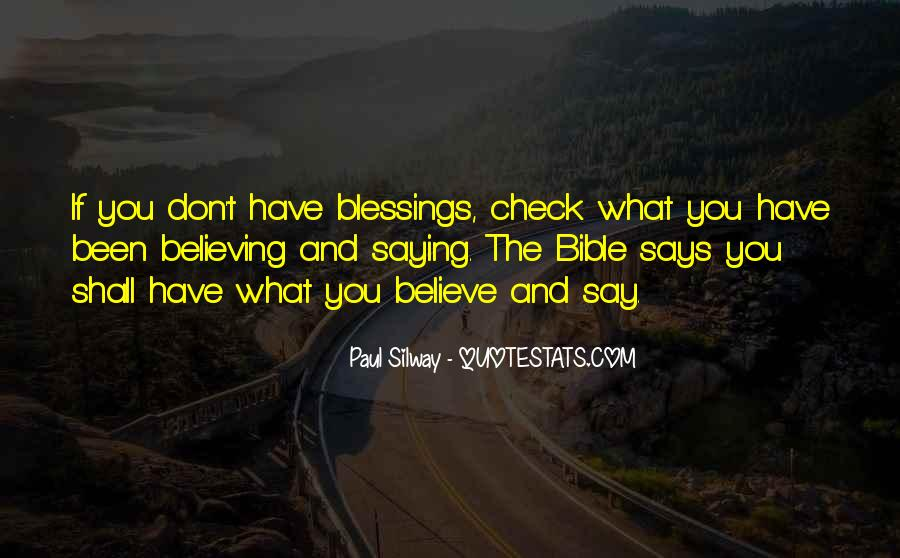 Blessings And Sayings #19690