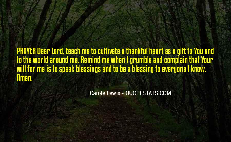 Blessings And Sayings #82632