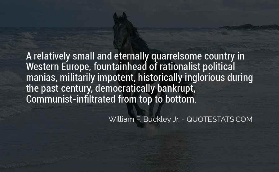 William F Buckley Sayings #1082004