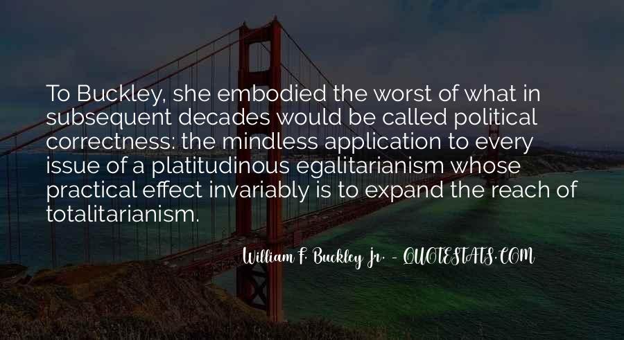 William F Buckley Sayings #1097100