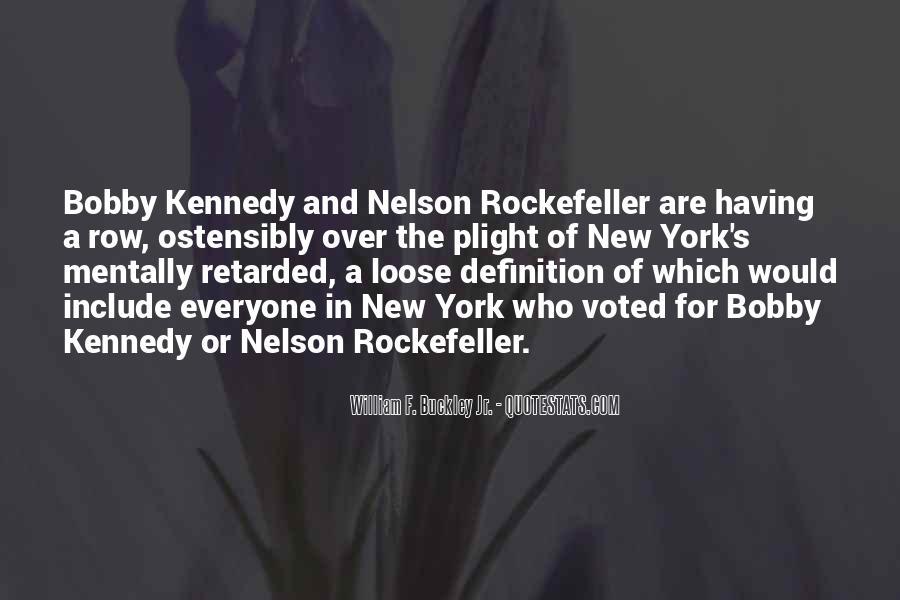 William F Buckley Sayings #1116436
