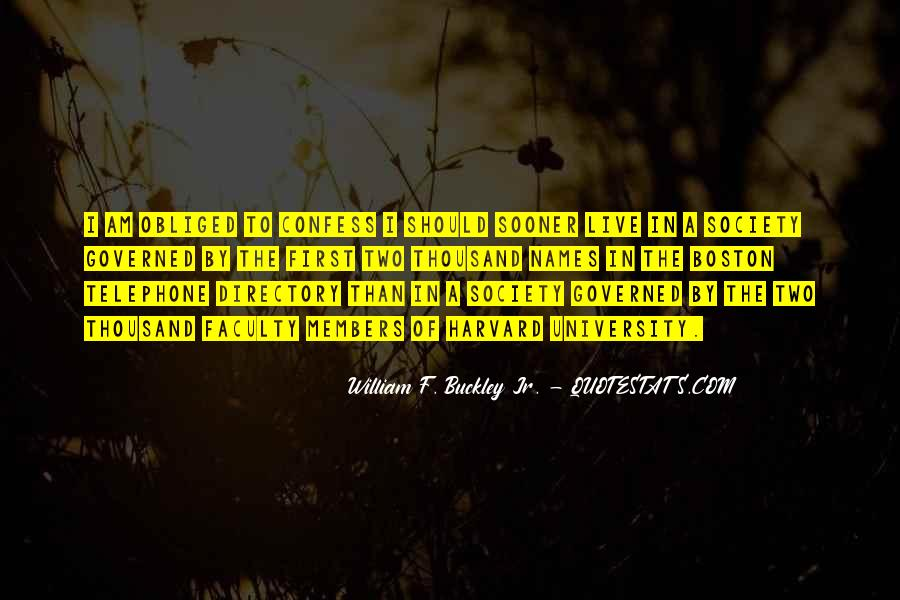 William F Buckley Sayings #1154353