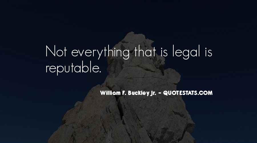 William F Buckley Sayings #1189852