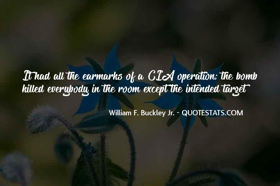 William F Buckley Sayings #1204752