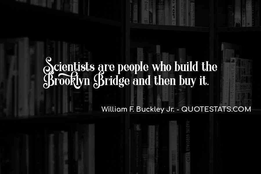 William F Buckley Sayings #1271950