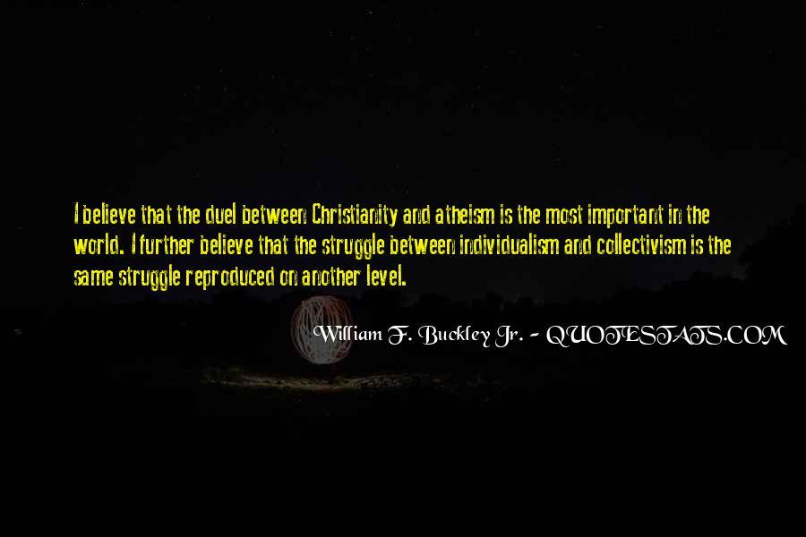 William F Buckley Sayings #1293327