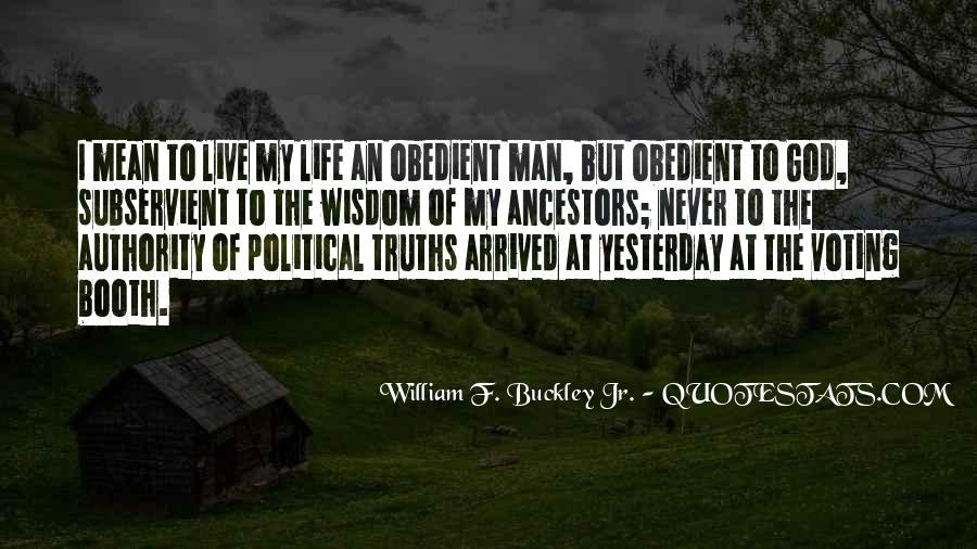 William F Buckley Sayings #153512