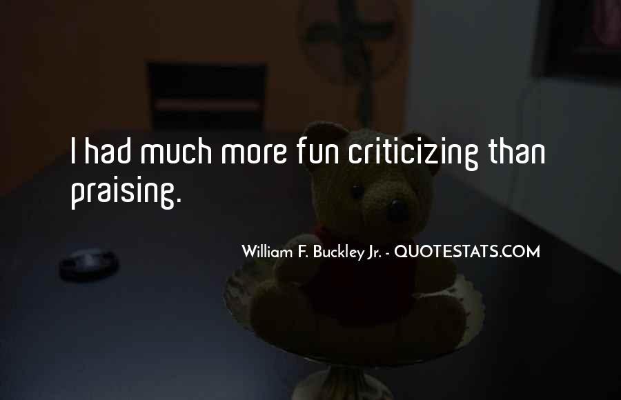 William F Buckley Sayings #154262