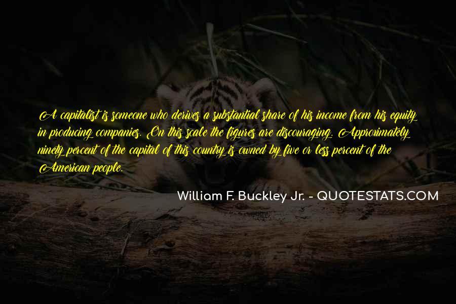 William F Buckley Sayings #17323