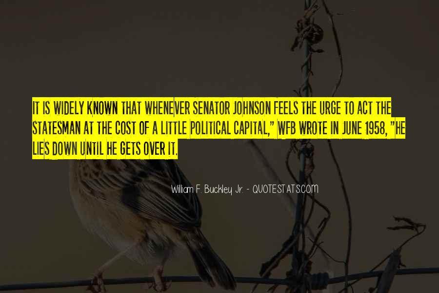 William F Buckley Sayings #194439