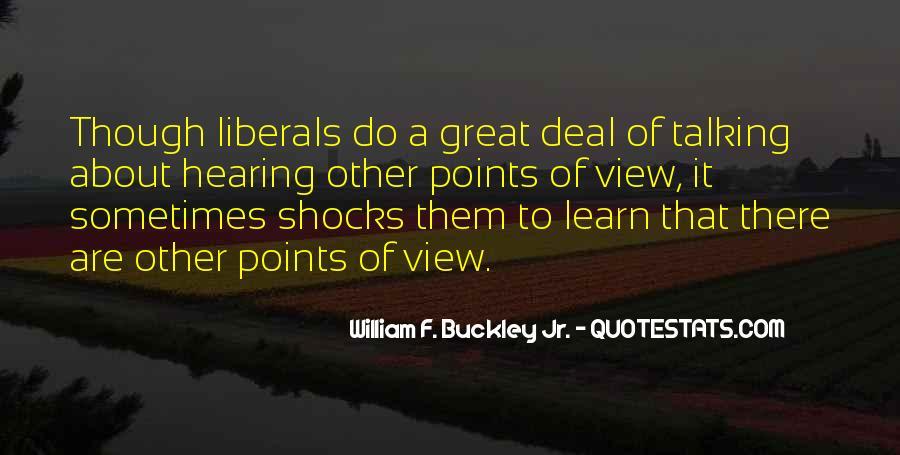 William F Buckley Sayings #219517