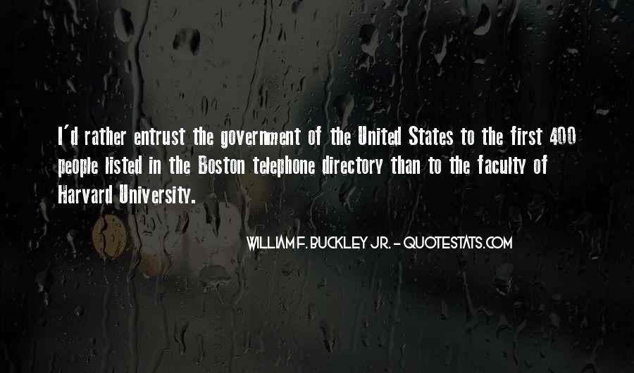 William F Buckley Sayings #296704