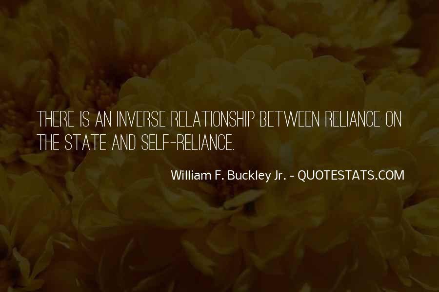 William F Buckley Sayings #336498