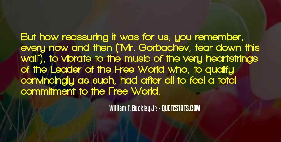 William F Buckley Sayings #38433