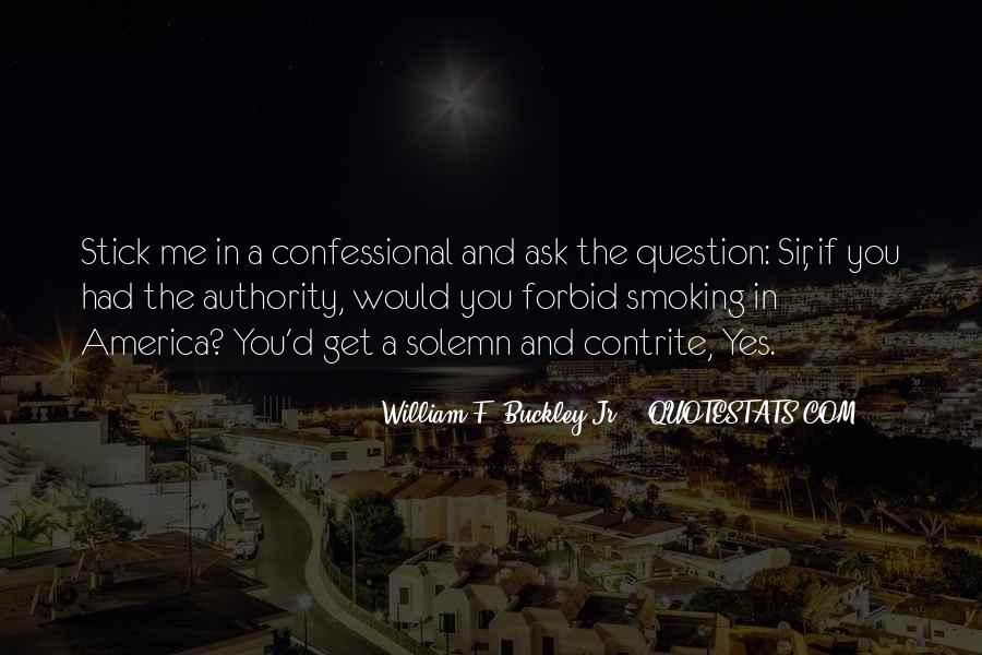 William F Buckley Sayings #401460