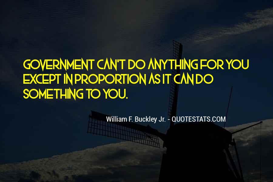 William F Buckley Sayings #544891