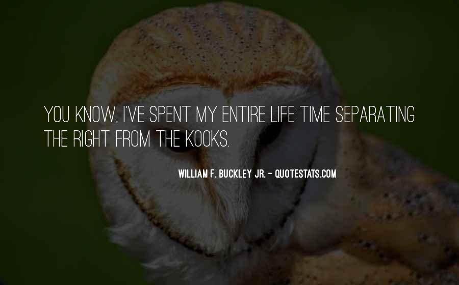 William F Buckley Sayings #547290