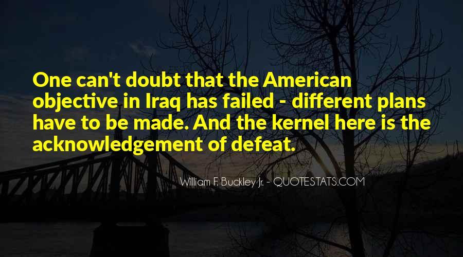 William F Buckley Sayings #554935