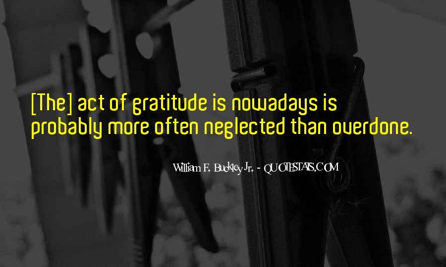 William F Buckley Sayings #622699