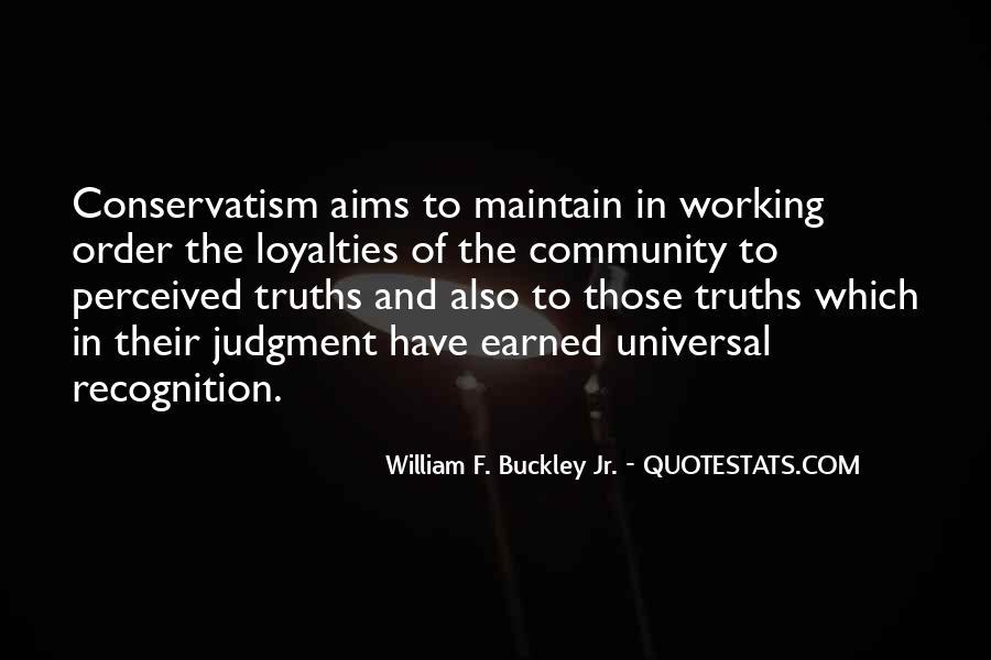 William F Buckley Sayings #631812