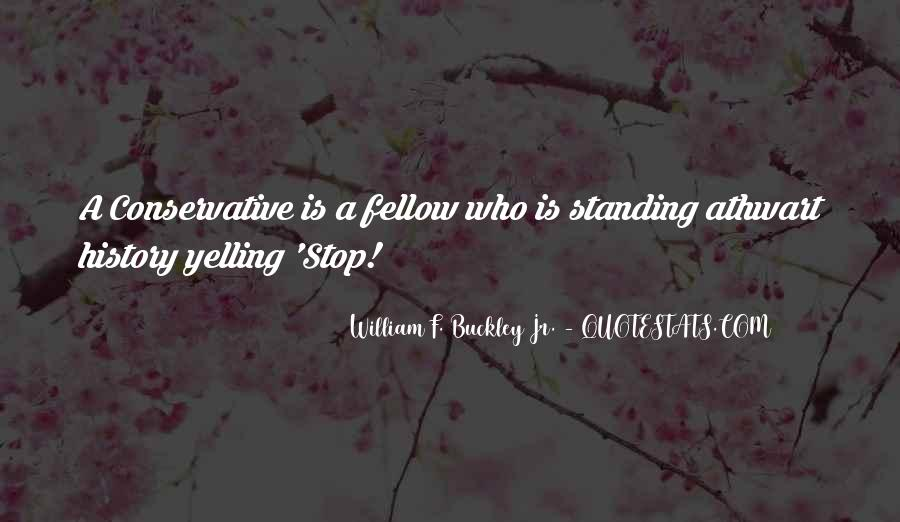 William F Buckley Sayings #692192
