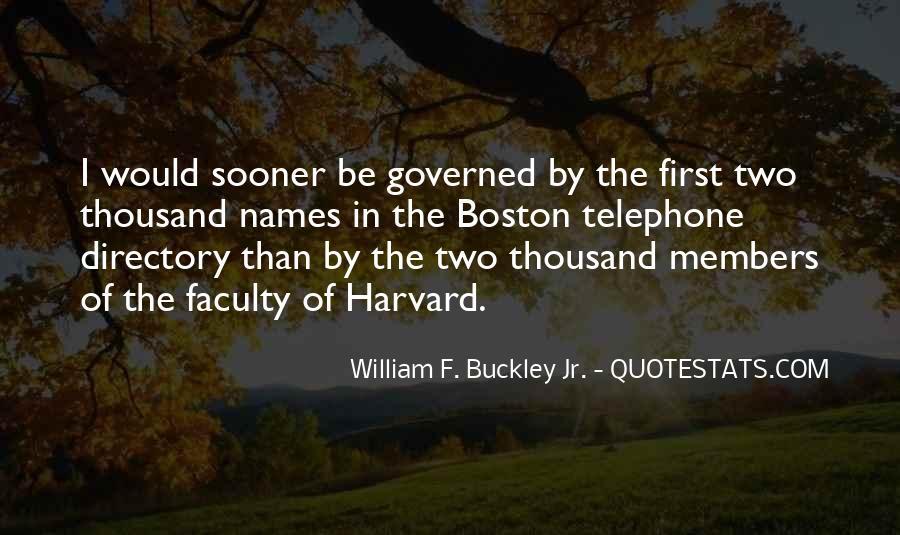 William F Buckley Sayings #751276