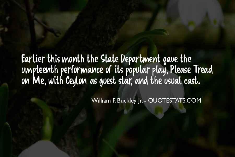 William F Buckley Sayings #757090