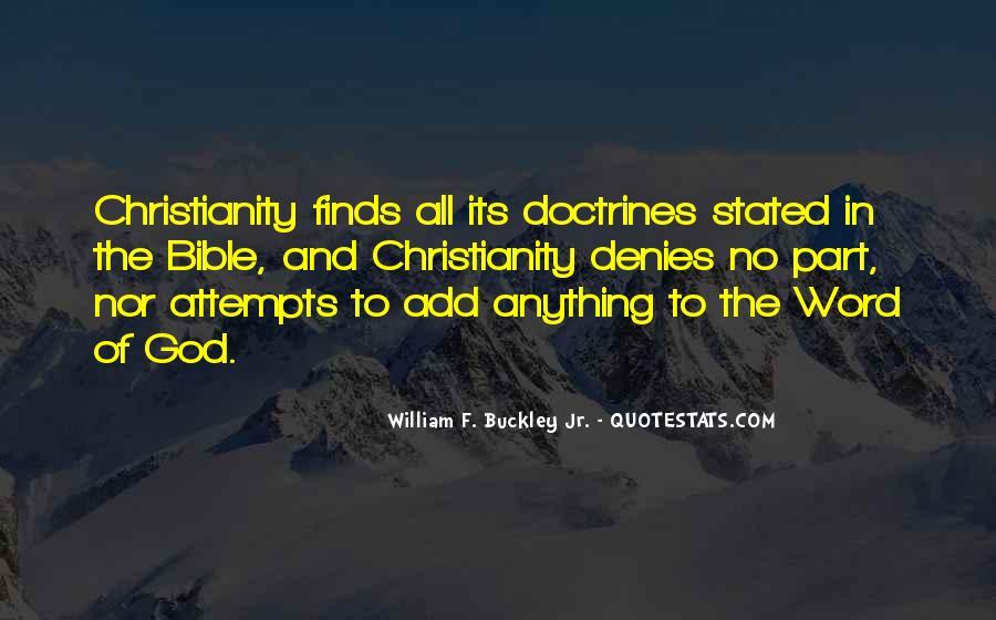 William F Buckley Sayings #773569