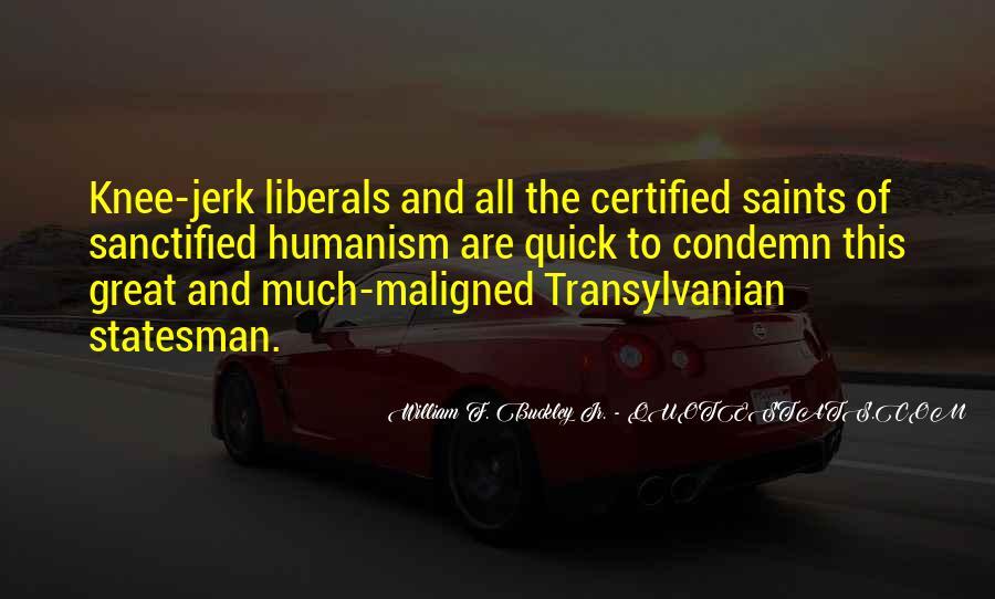 William F Buckley Sayings #777387