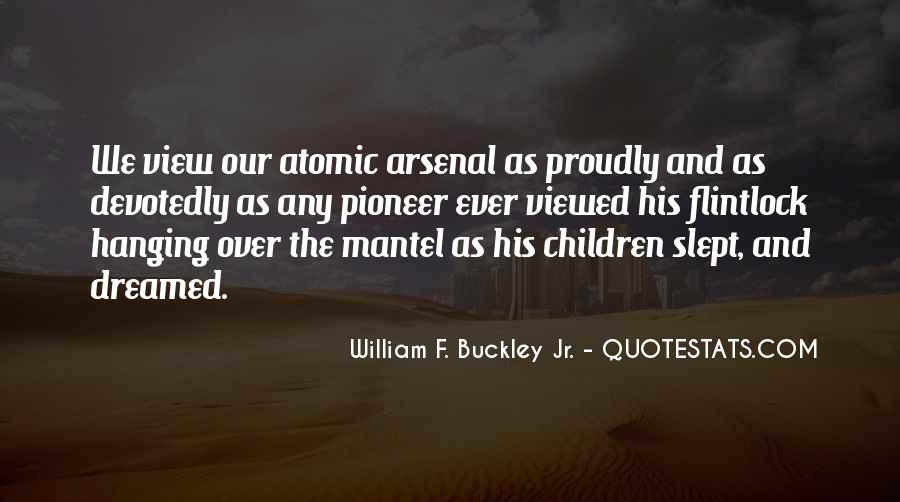 William F Buckley Sayings #850410