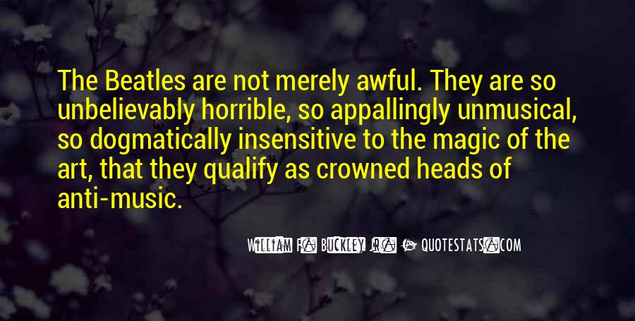 William F Buckley Sayings #894595