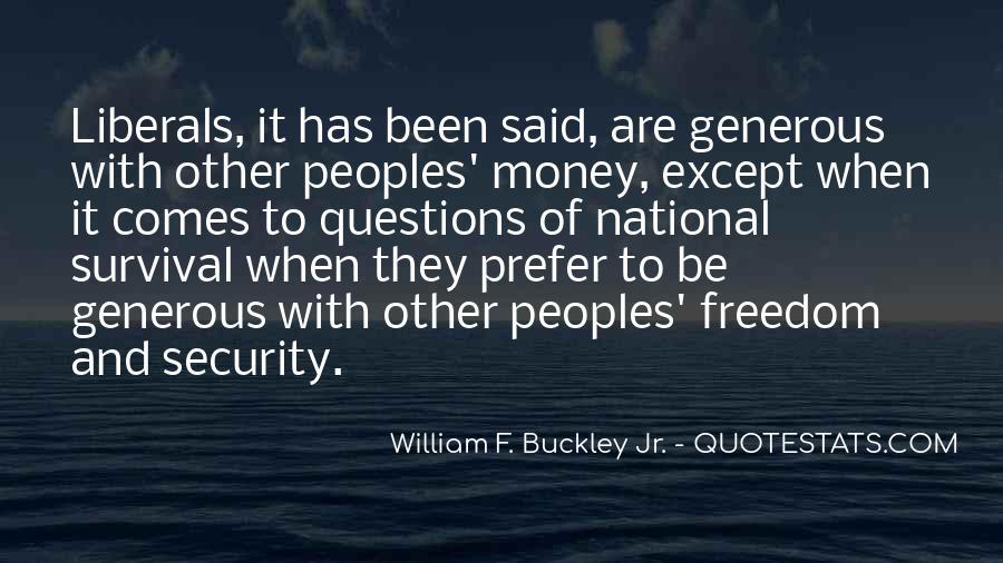 William F Buckley Sayings #928072