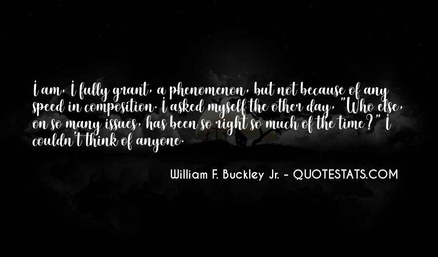 William F Buckley Sayings #930748