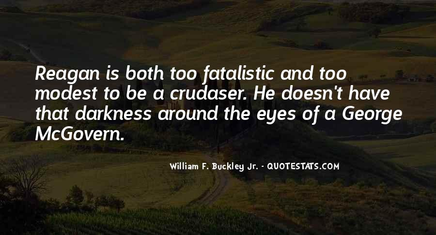William F Buckley Sayings #93822