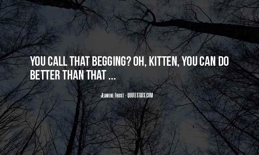 Cat And Kitten Sayings #1227504